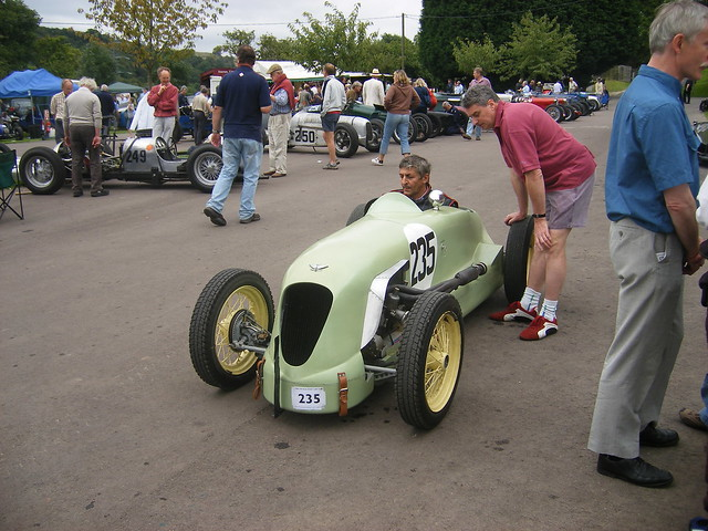 Austin seven 200 mile brooklands race car prescott for Motor mile austin texas