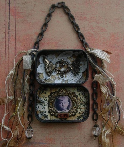 Altered Art Tin Assemblage | by HealingExpressions