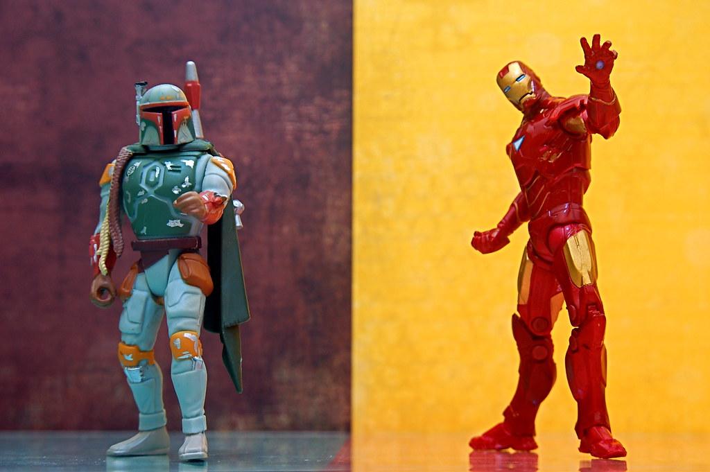 Boba Fett vs. Iron Man (133/365) | Boba Fett: Armored ...