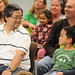 Father and son at the 4th annual Children's Reading Celebration & Young Authors' Fair
