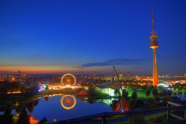Olympic Park Munich Olympic Park Munich Hdr