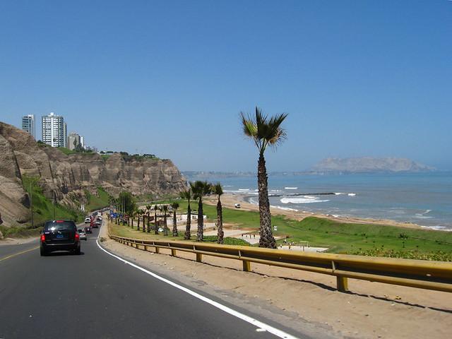 La Costa Verde Lima Peru Beach Circuit Of La Costa