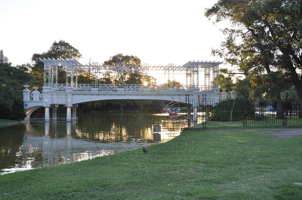 Greek Bridge Buenos Aires Botanical Garden The Buenos Ai Flickr