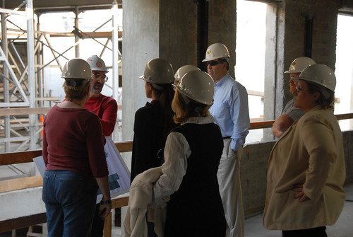 Faculty and staff on Broome Library Tour | by California State University Channel Islands