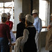 Faculty and staff on Broome Library Tour