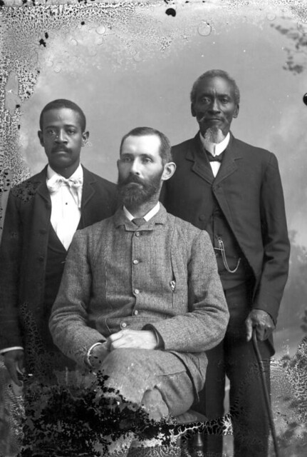 Gentleman With Two Of His Servants Portraits Of African