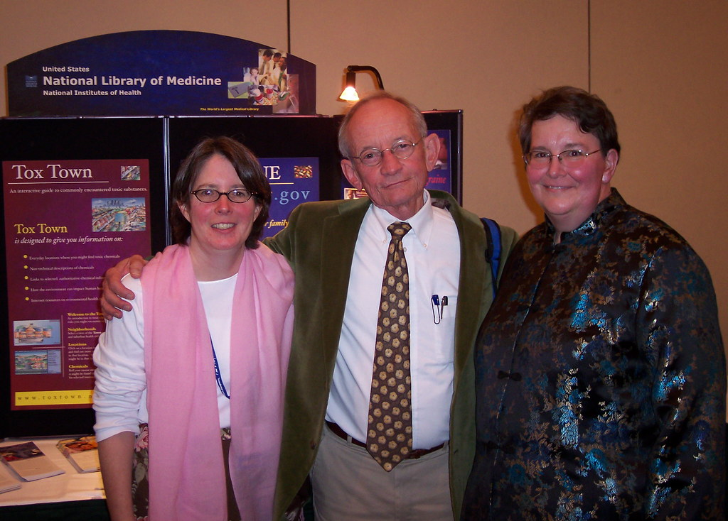 Librarians with Ted Kooser, 2006 | Siobhan Champ-Blackwell ...
