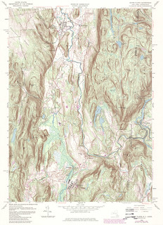 Dover Plains Quadrangle 1984 - USGS Topographic 1:24,000 | by uconnlibrariesmagic