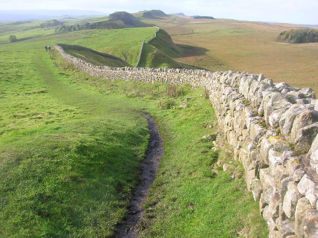 Hadrian S Wall Hadrian S Wall Quisnovus Flickr
