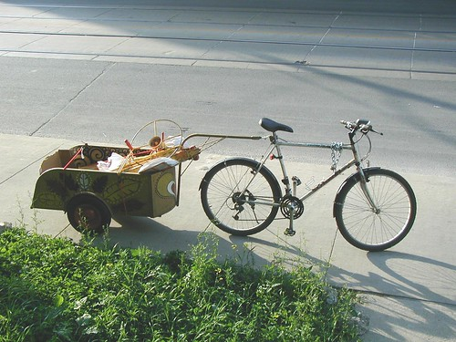 bike trailer | by towerbrave