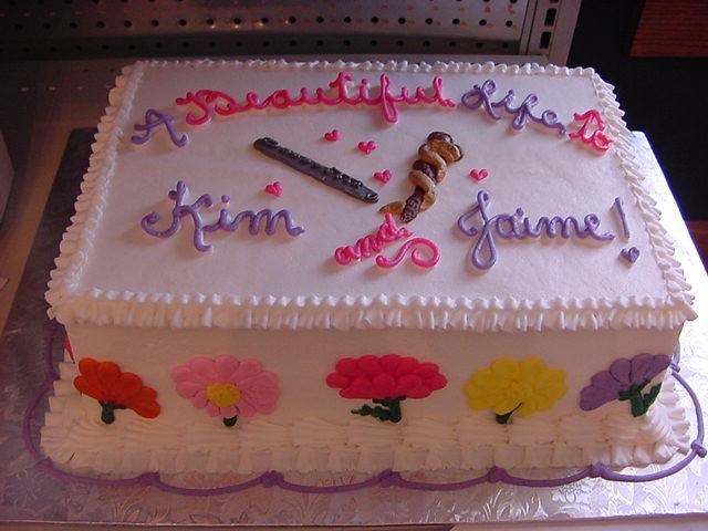 Sheet Cake Designs For Wedding Shower : wedding shower sheet cake sea Flickr