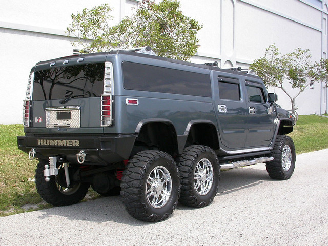2005 Hummer H6 Players Edition Limo Lift Kit H2 4 Rollen40 Flickr
