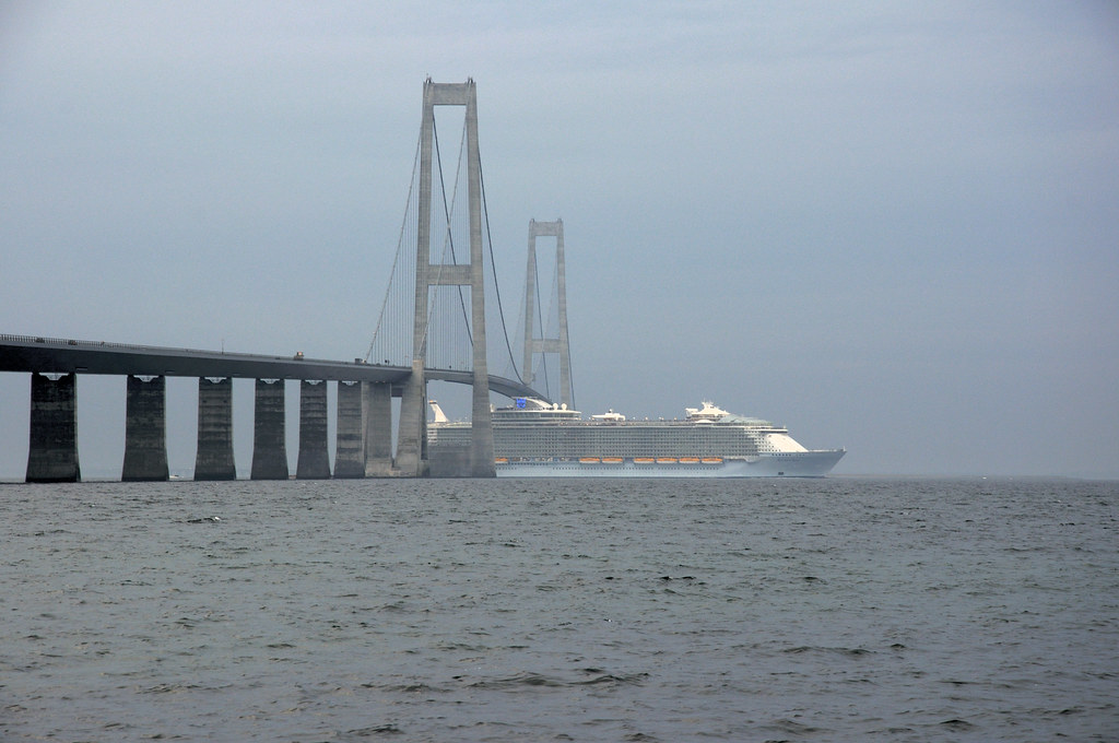 Allure of the seas under great belt bridge worlds biggest flickr - The allure of the modular home ...