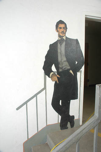 Walk of Fame, Mural of Clark Gable from Gone with the Wind | by California State University Channel Islands