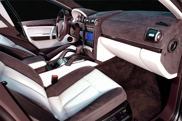 Porsche Cayenne Tuning Interior Alcantara Carbon | Alexey | Flickr