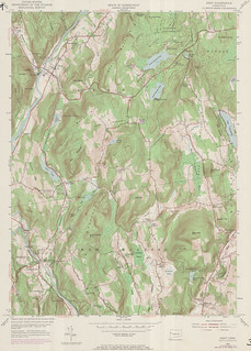 Kent Quadrangle 1971 - USGS Topographic Map 1:24,000 | by uconnlibrariesmagic