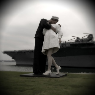 The Kiss at Midway | by peasap