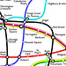Curvy Tube Map Detail by Maxwell Roberts
