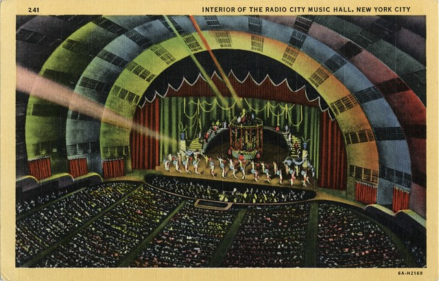 Radio City Music Hall, New York City NY, Thirties | Since ...