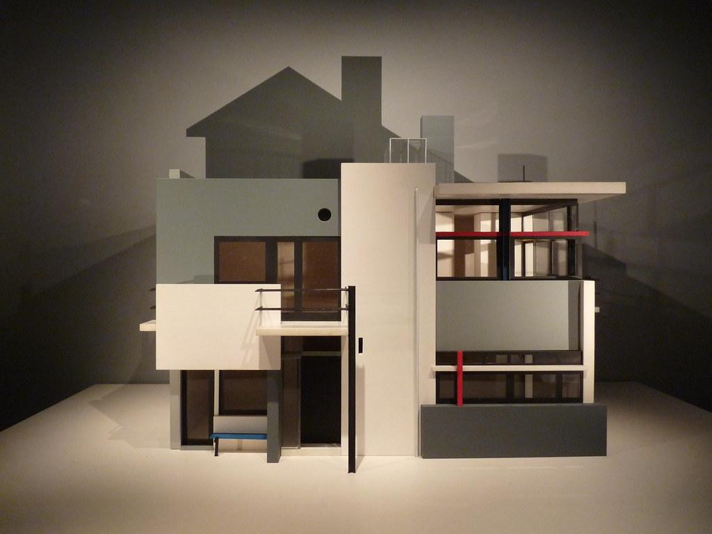 Gerrit Rietveld Rietveld Schroder House model Gerrit
