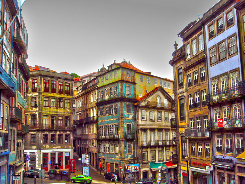 Oporto hdr diego flickr - Casco antiguo de lisboa ...
