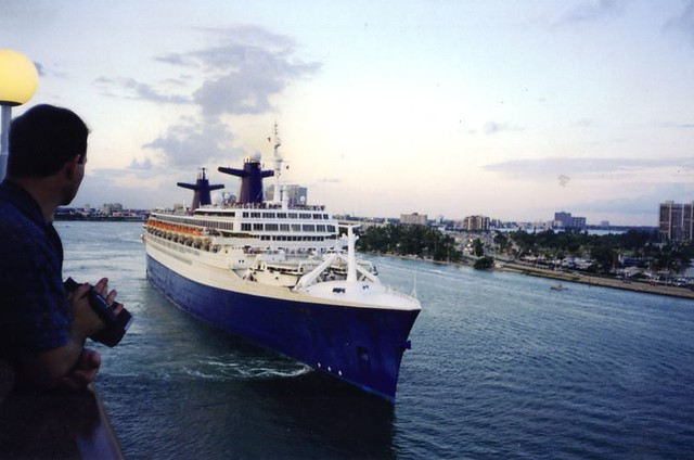 Cruise Ship At Miami Cruise Ship Ss Norway Arriving In