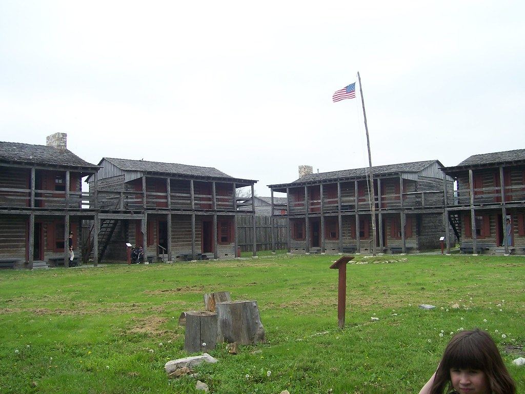 Old Fort Madison Iowa Interior Of Re Created Fort