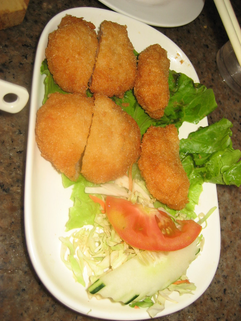 fried fish cake crispy and fragrant goes well with ForWhat Goes Good With Fried Fish