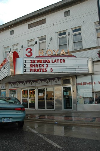 Royal Theatre - Le Mars, IA | by wandrlusting