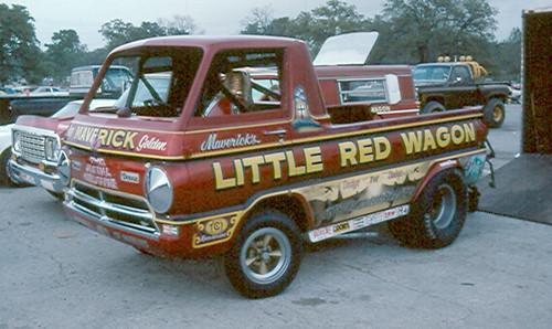 Little Red Wagon | Little Red Wagon wheelstander. This photo… | Flickr
