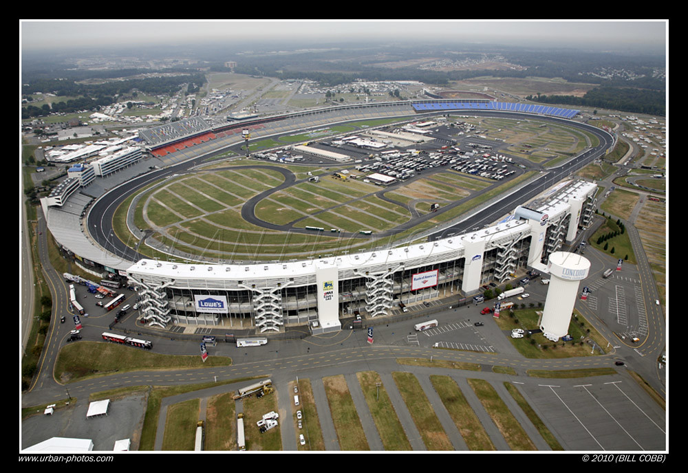 Charlotte motor speedway aerial of charlotte motor for Map of charlotte motor speedway