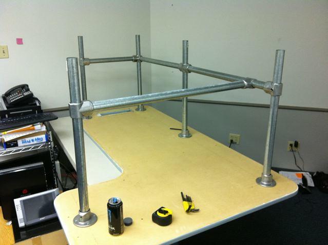DIY Custom Desk | Another DIY custom desk inspiried by the ...