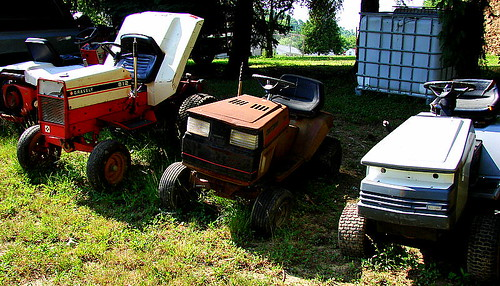 """She Thinks My [Lawn] Tractor's Sexy"" 