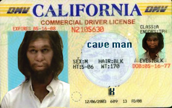 So easy...a caveman can steal your Identity | by Don Hankins