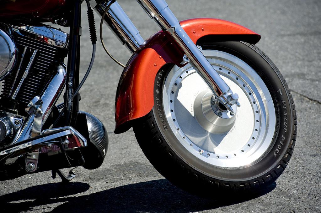 Harley Davidson Fat Boy Slotcar