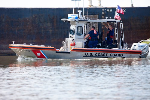 Even the U.S. Coast Guards is on the scene | by Kris Krug