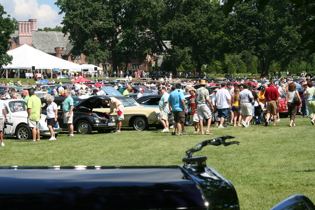 Stan Hywet Fathers Day Car Show