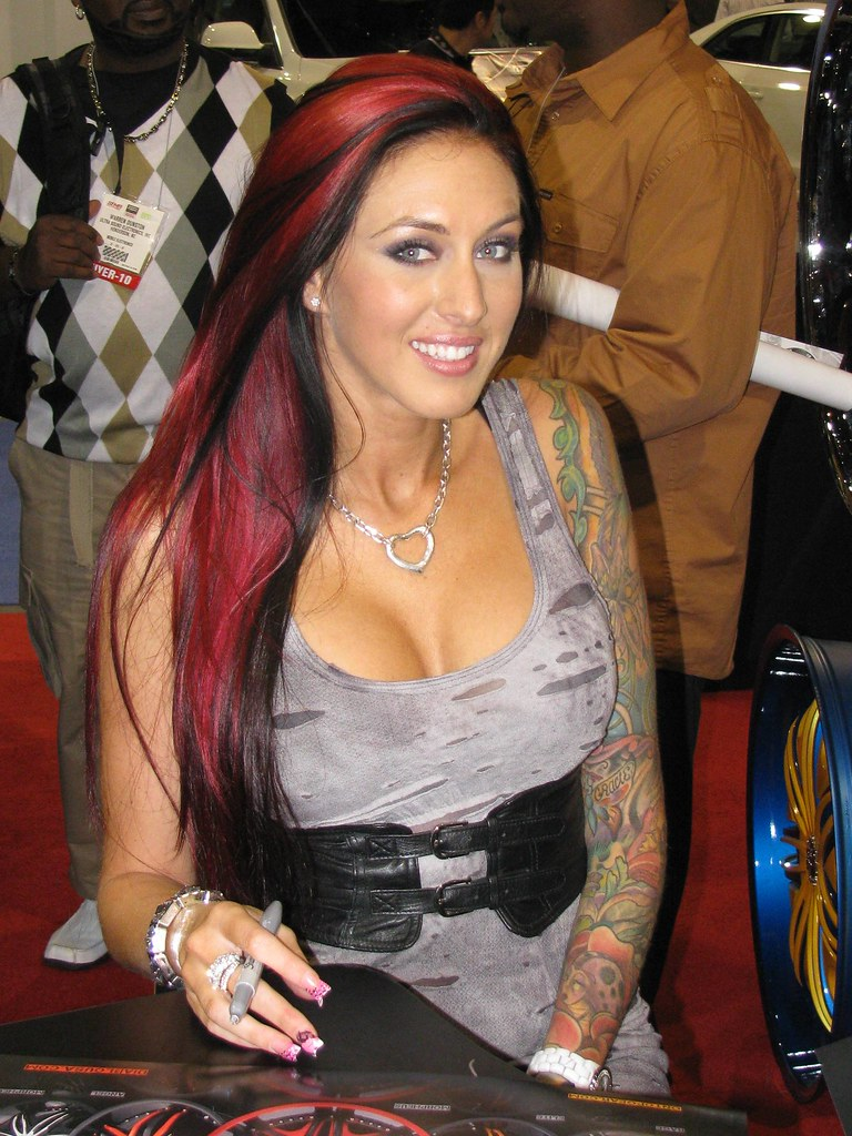 SEMA 2010 Booth Babes - Monica Bailey | . | Bill Cook | Flickr