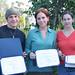 Essay winners, Sean Ryan, Erica Allen RaLeigh Crawford