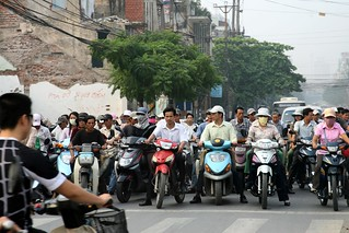 Traffic congestion in the city of Hanoi | by World Bank Photo Collection