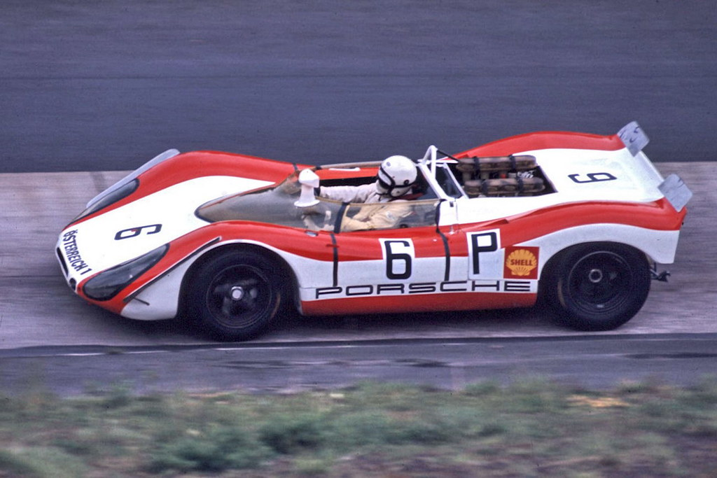 1969 Porsche 908 02 Rudi Lins Dick Attwood Porsche 908