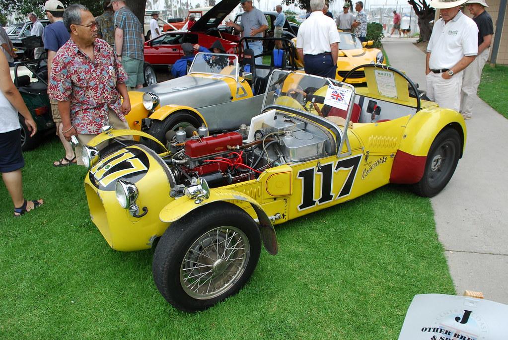 Minimaniacs - CarShow - British Car Show   Lotus 6   Jon ...