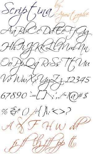 Scriptina letras que faço eti flickr