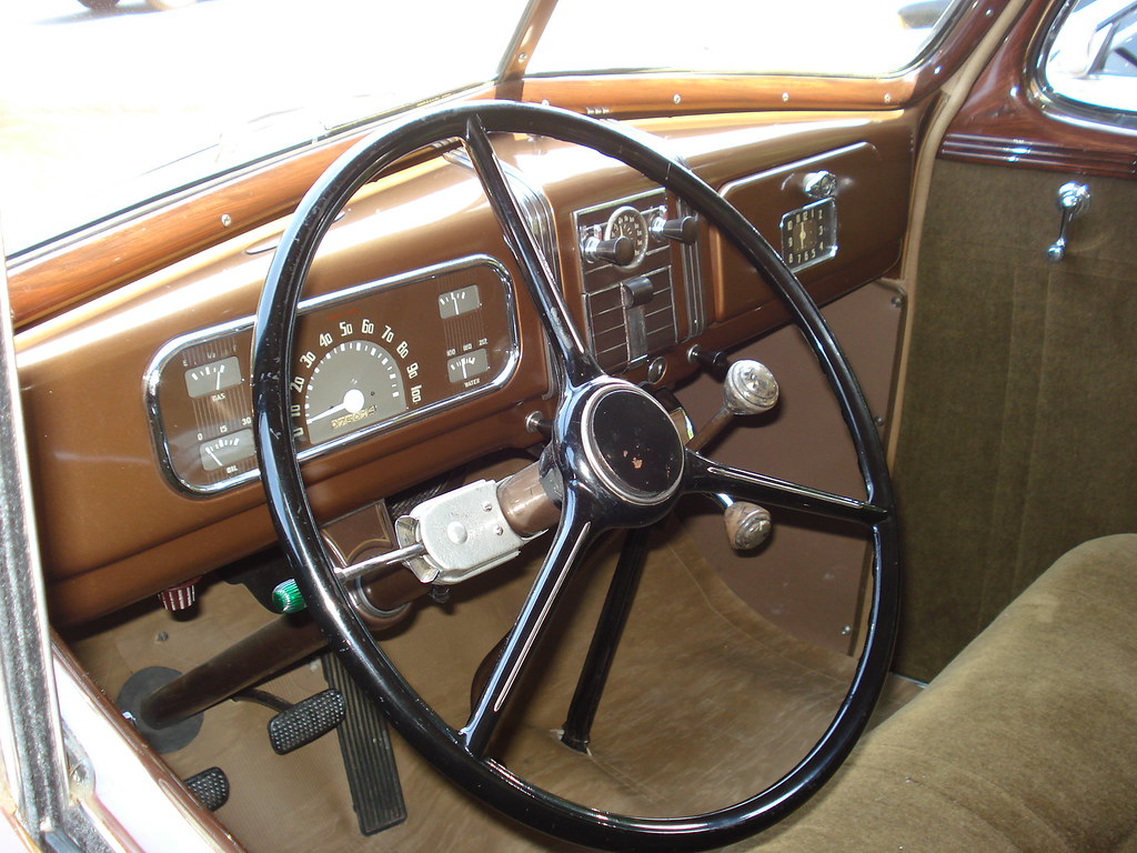 1937 Chevrolet Interior Dashboard Silvester Humaj Flickr