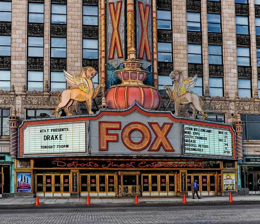 Fox Theater Mi: Road Trip To Detroit 2010