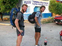 French Pan-Am Runners Matthieu and Ludo