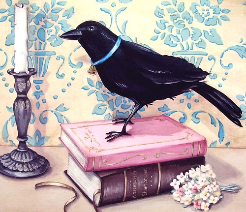 details of Mr Raven and his books! | by holiday_jenny