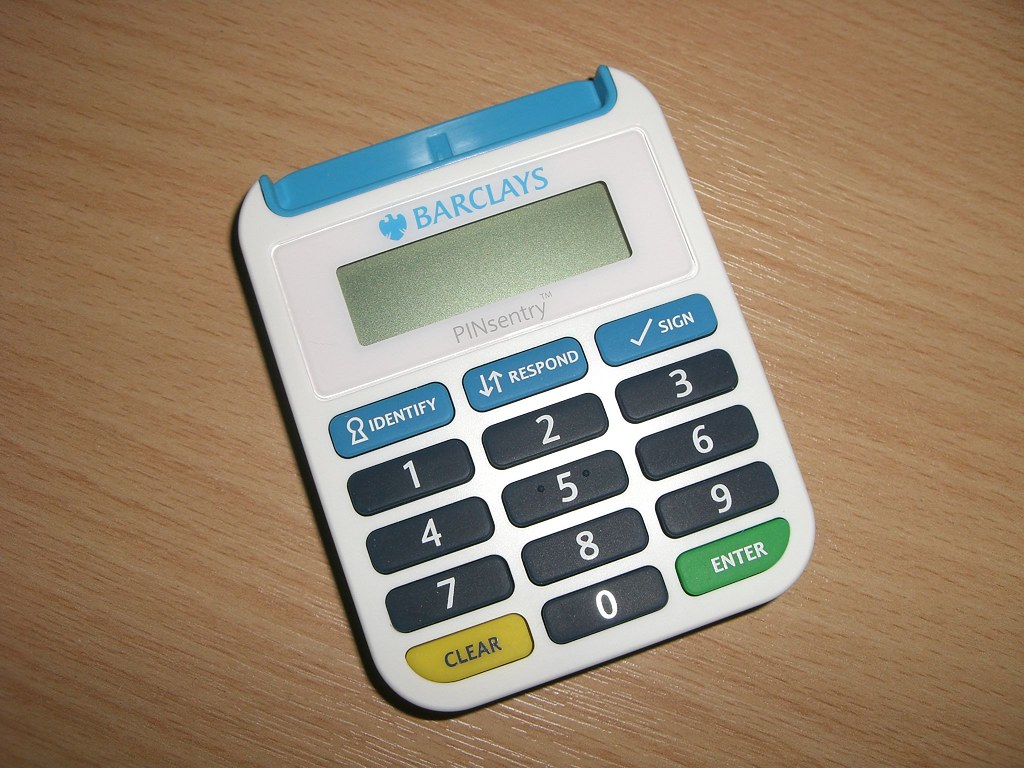 Barclays PINsentry Card Reader | I inexpediently got a new d… | Flickr