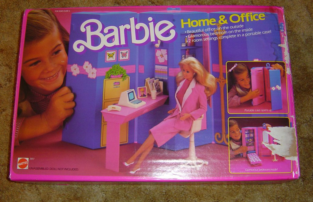 Day To Night Barbie Home Amp Office I Had A Couple Of