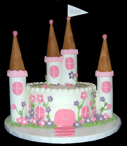 Small Princess Castle Cake Flickr Photo Sharing